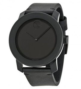 Movado Movado Bold Leather Unisex Watch 3600306