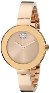 Movado Movado Bold Rose Gold-Tone Ladies Watch 3600202