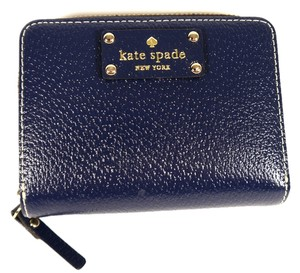 Kate Spade Authentic KATE SPADE Cara Wellesley Wallet Navy Blue: MSRP $178