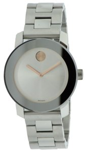 Movado Movado Bold Medium Stainless Steel Watch 3600084