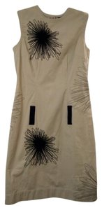 DKNY short dress Beige on Tradesy