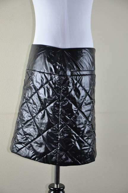 Chanel Cocoon Style Quilted Mini Limitted Nylon Skirt