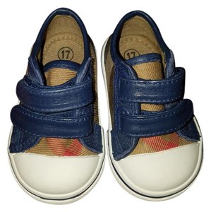 Burberry Baby Pete Sneakers Size 17 US 2