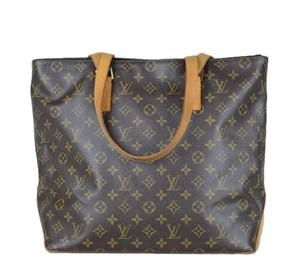 Louis Vuitton Monogram Cabas Tote in Brown