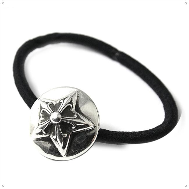 Item - Silver Ch 5 Point Star Hairband Bracelet Hair Accessory