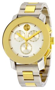 Movado Movado Bold Chronograph Two-Tone Unisex Watch 3600357