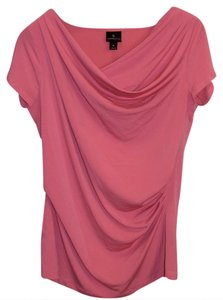 Worthington Silky Business Casual Work Soft Top Pink