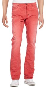 PRPS Straight Leg Jeans-Distressed