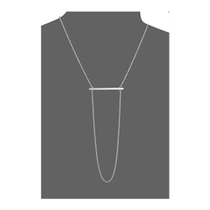 Rebecca Minkoff Bar Necklace