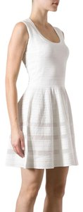 M Missoni short dress white Knit Lined Fit And Flare on Tradesy