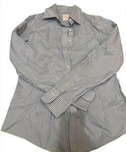Brooks Brothers Button Down Shirt Light blue pin stripe