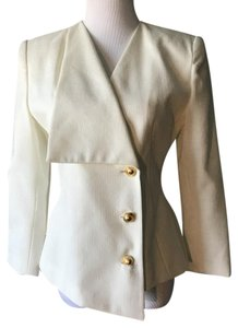 Kasper ASL Petite Evening Wedding Ivory Blazer