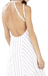 BCBGMAXAZRIA short dress White, Off-White on Tradesy