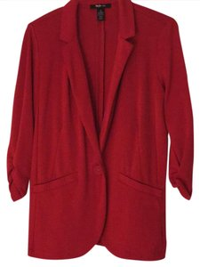Style & Co Red Blazer