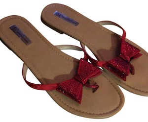 INC International Concepts red Sandals