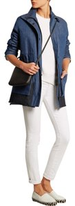 Proenza Schouler Denim Long Coat blue Womens Jean Jacket