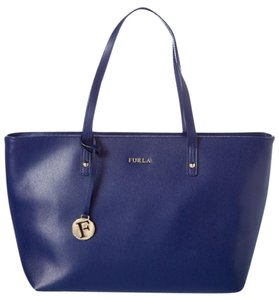 Furla Leather Handbag Luxury Tote