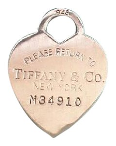 Tiffany & Co. Tiffany & Co Large Heart Tag Charm Pendant Numbered