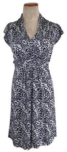 French Connection short dress NAVY BLUE CREAM on Tradesy