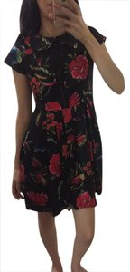 Iron Fist Floral Peter Pan Collar Pleated Vintage Dress