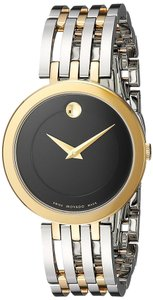 Movado Movado Esperanza Two-Tone Stainless Stel Ladies Watch 0607053