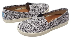 TOMS Sneaker Avalon & Boucle Slip On Sneaker Black & Pink Flats