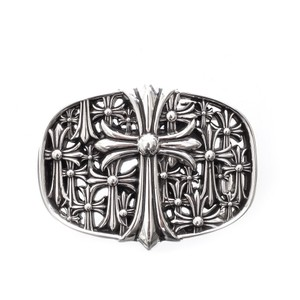Chrome Hearts LARGE CEMETERY CROSS BELT BUCKLE
