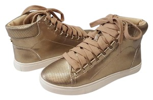 Steve Madden Sneaker Sneaker Darya High Top Sneaker Rose Gold Athletic