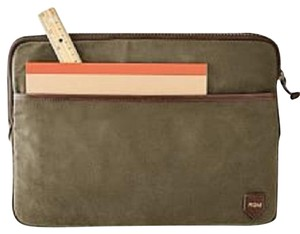 Mark and Graham Sale!!! NEW Mark and Graham Olive Green Waxed Canvas Laptop Sleeve