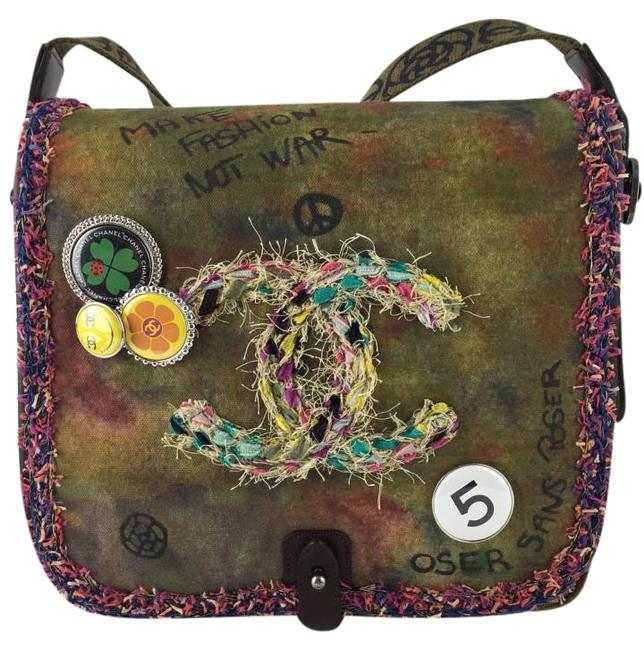 Item - Limited Edition Graffiti Canvas Messenger Bag