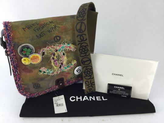 Chanel Canvas Graffiti Messenger Bag