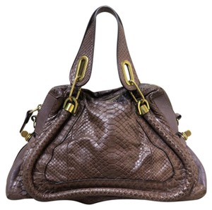 Chloé Chloe Small Paraty Tote in brown