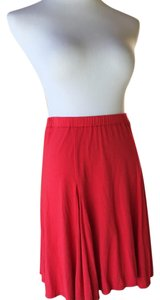 Max Studio Skirt red