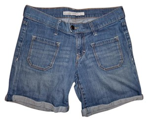 Old Navy Stretchy Rolled Up Shorts Blue