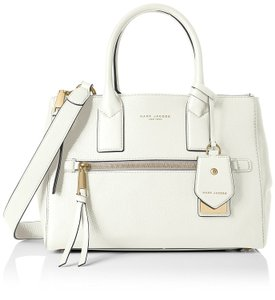 Marc Jacobs Recruit East / West Pebbled Leather Color Tote in Dove