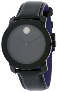 Movado Movado Bold Patent Leather Unisex Watch 3600345