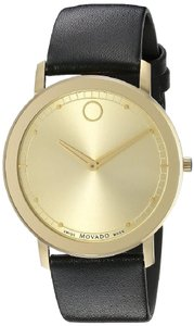 Movado Movado Sapphire Leather Mens Watch 0606883 [606883]