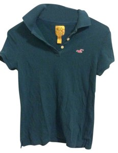 Hollister Polo Short-sleeved Polo Top Forrest Green