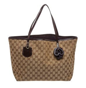 Gucci Tote in Brown/Purple