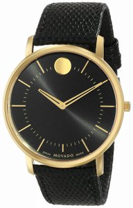 Movado Movado TC Yellow Gold Ion Mens Watch 0606847 [606847]