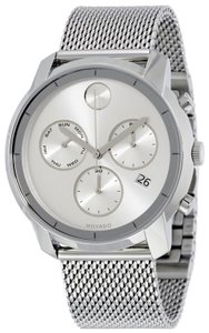 Movado Movado Bold Stainless Steel Chronograph Mens Watch 3600371
