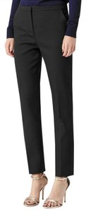 Reiss Work Career Dress Straight Pants Black