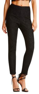 Marciano Comfy Knit Ponte Skinny Pants Black