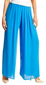 Marciano Comfy Palazzo Super Wide Wide Leg Pants Blue