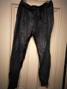 Helmut Lang Skinny Pants Dark teal black