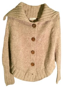 Anthropologie Sleeping Cardigan Wool Statement Sweater
