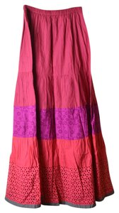 Long Tall Sally Tallgirl Maxi Skirt Pink