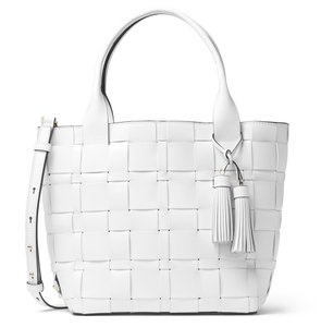 Michael Kors Optic Medium Handbag $478 Tote in White