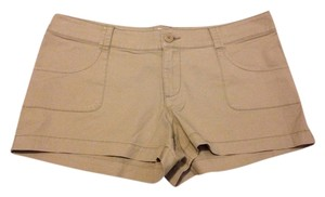 Mossimo Supply Co. Mini/Short Shorts Beige