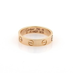 Cartier Cartier Mini Love 18k Rose Gold 3.5 Ring